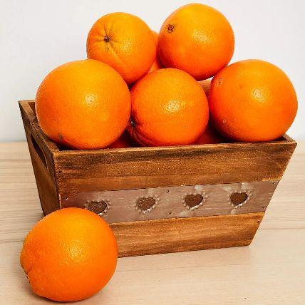 Basket Of Oranges 3 kgs: Gift Hampers Delivery