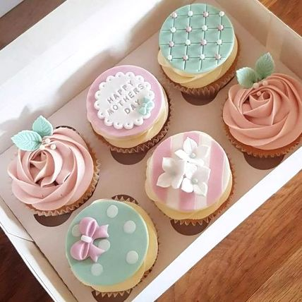 Cupcake Box Delight: Gifts for Mothers Day