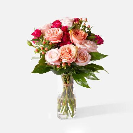 Appealing Assorted Rose & Spray Rose Arrangement: Flowers  in Saudi Arabia