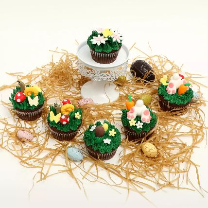 Easter Special Chocolate Cup Cakes: Easter Gifts