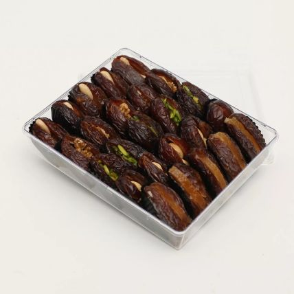 A Box Of Dates With Dry Nuts Filling 500g: Gift Hampers Delivery