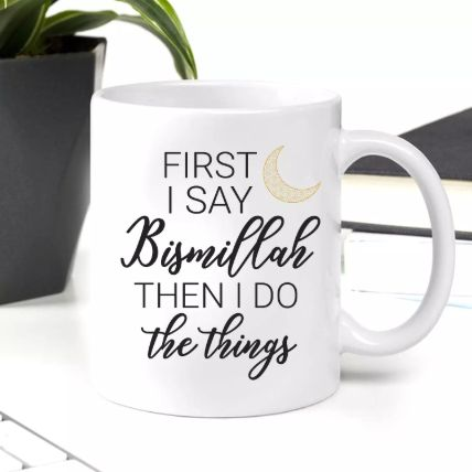 Ramadan Slogan Mug: Personalized Gifts Delivery