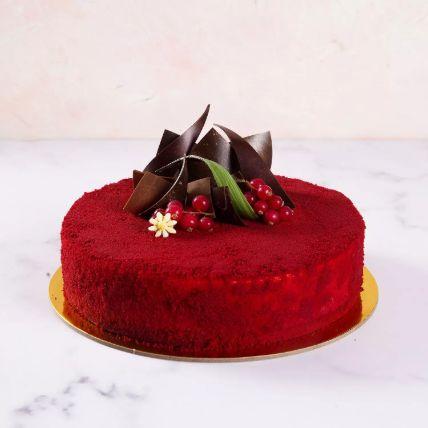 Delicious Red Velvety Cake: