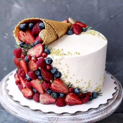 Tales of Taste Ice Cream Cone Cake: