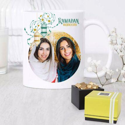 Ramadan Mug With Patchi Chocolate: Buy Gifts