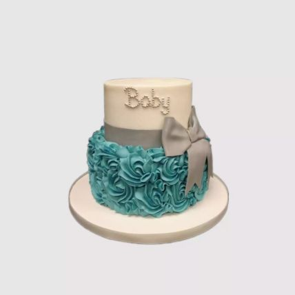 Baby Bow Cake: Cakes for New Born