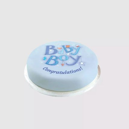 Baby Boy Sweet Surprise: New Born Cakes