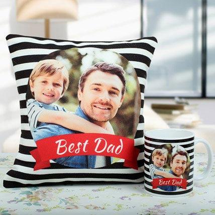 Best Dad Cushion And Mug Combo: Buy Mugs