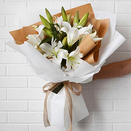 Beautiful Lilies Bouquet: Lilies Flowers