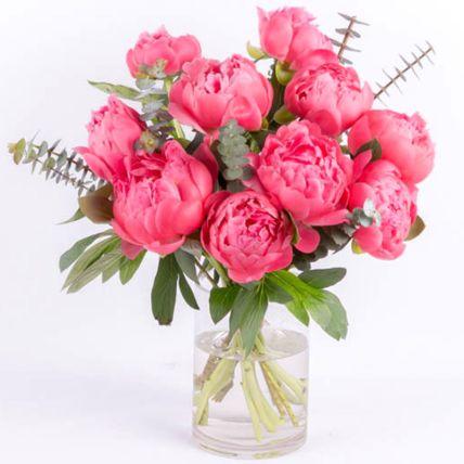 Perfect Pink Peonies: