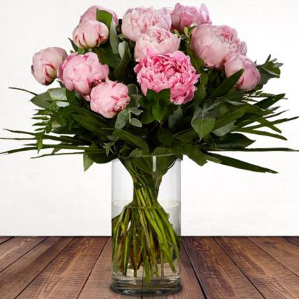 Simple Charm: Peonies Bouquet
