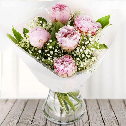 Sweet Blooms: Peonies Bouquet
