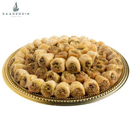 Assorted Pistachio Kol w Oshkr Delight: Saadeddin Cakes