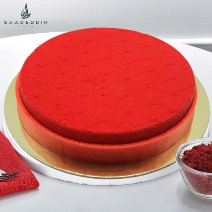 Delicious Red Velvet Cake: Saadeddin Cakes