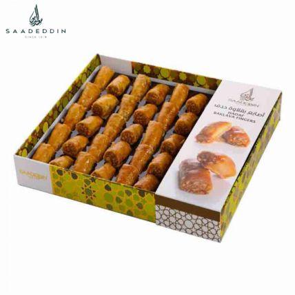 Luscious Baklava Finger Box 390 Gms: