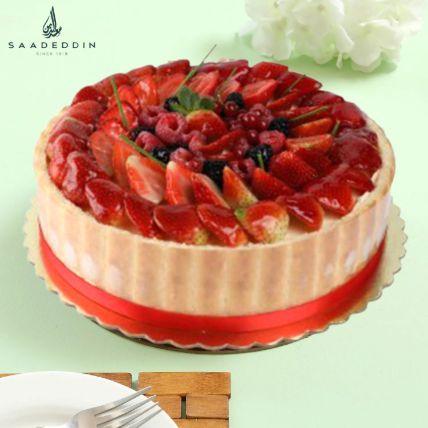 Mix Berry Cake: