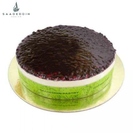 Scrumptious Blueberry Cheesecake By Saadeddin: Saadeddin Cakes