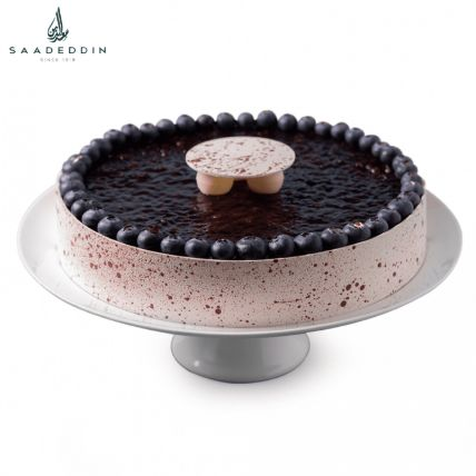 Tempting Blueberry Cake By Saadeddin: Order Cakes