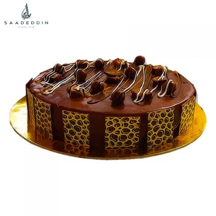 Ambrosial Snickers Cake By Saadeddin: