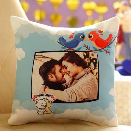 Hug Me Personalised Cushion: