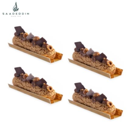 Mouth Watering Chocolate Hazelnut Eclair: Order Cakes