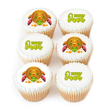 Happy Onam Photo Cupcakes:  Cake Delivery