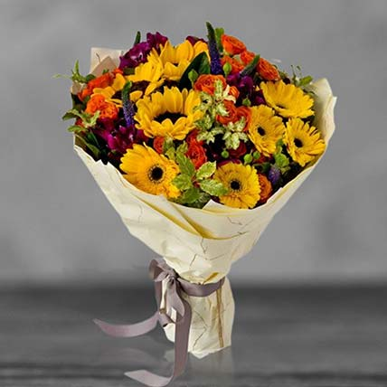 Blooming Sunshine Bouquet: