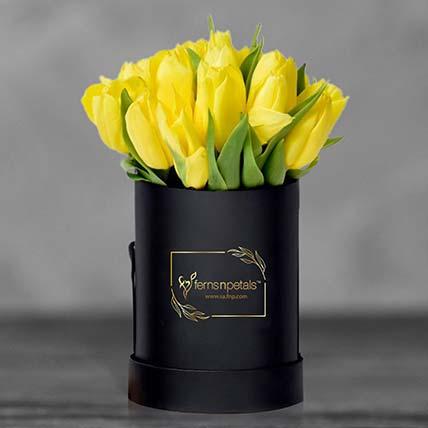 Tulip In A Box: Flowers In Box