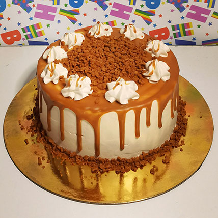 Butterscotch Cake: Order Cakes