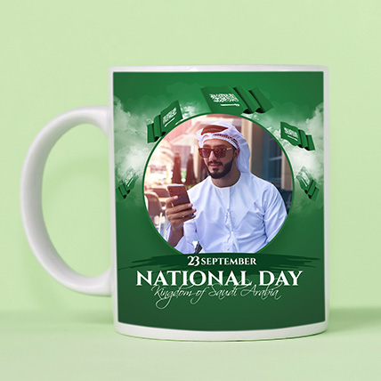 National Day Special Mug: Saudi National Day Cakes