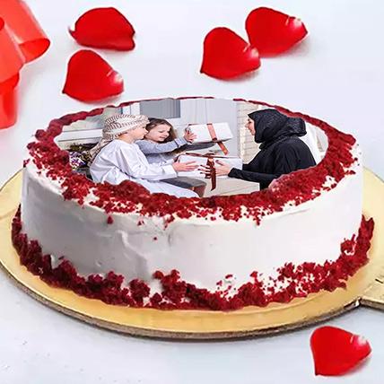 Birthday Photo Cake For Friends
