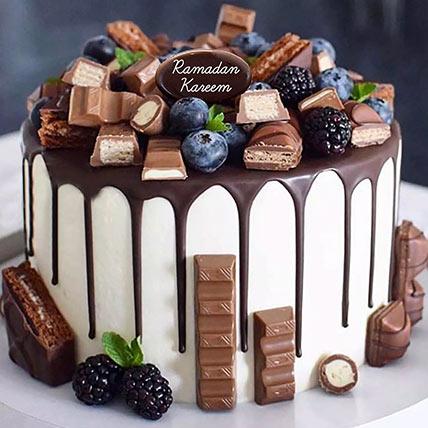 Choco Vanilla Cake For Ramadan