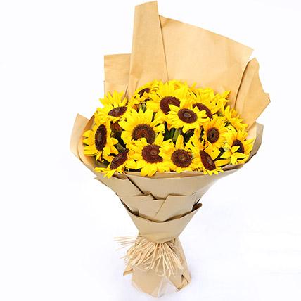 20 Sunflower Bouquet