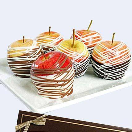 Gourmet Belgian Chocolate Dipped Apples