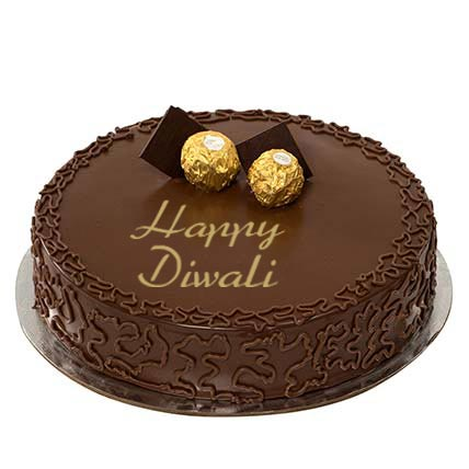 Ferrero Rocher Happy Diwali Cake