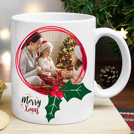Personalised Xmas Memories Mug