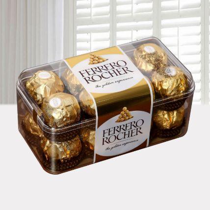 Ferrero Rocher Chocolates 16 Pieces
