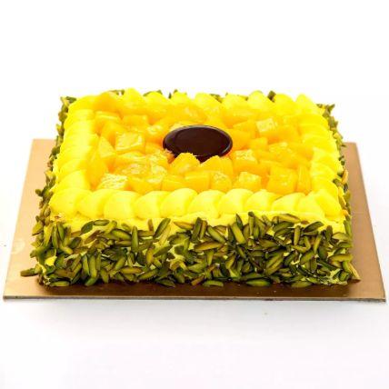 Mango Mousse Cake 12 Portion