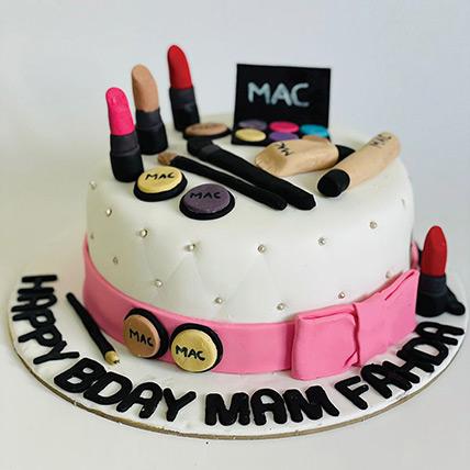 Mac Theme Cake 12 Portions Chocolate