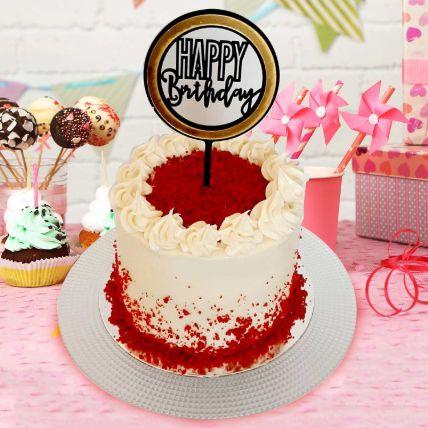 Red Velvet Cream Cheese Cake 8 Portions