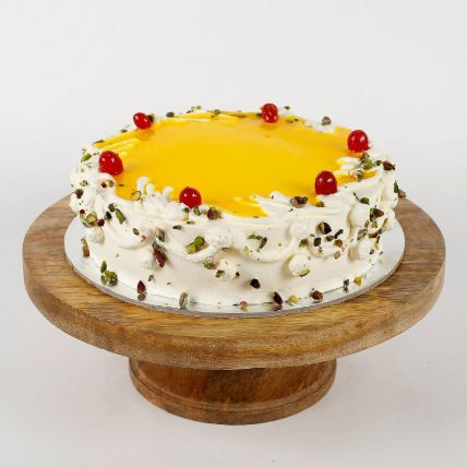 Cream Pista Pineapple Cake 1.5 Kg