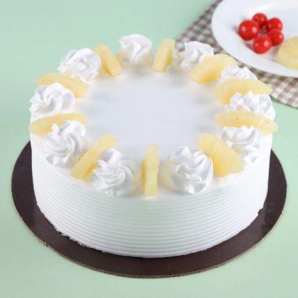 Pineapple Round Cake 1 Kg