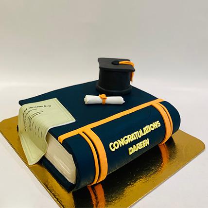 Graduation Cake 1.5 Kg
