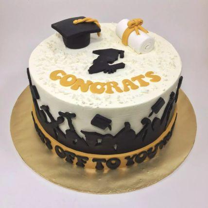 Congrats Graduate Cake 1.5 Kg