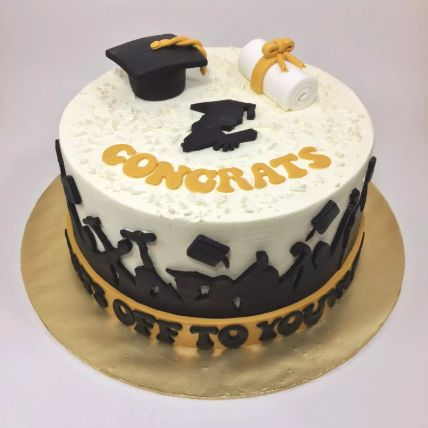 Congrats Graduate Cake 2 Kg