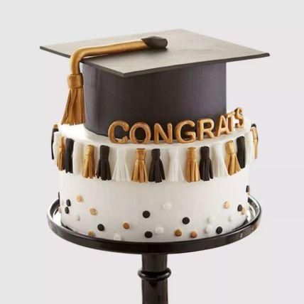 Graduation Hat Grand Cake 2 Kg