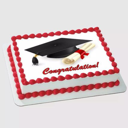 Graduation Photo Cake 1.5 Kg