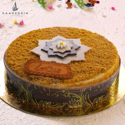 Lotus Cake Medium 8 Portions