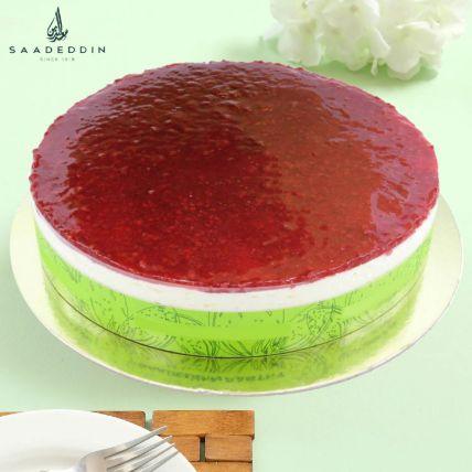 Raspberry Cheese Cake Medium 8 Portions