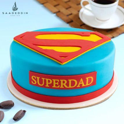 Super Dad Cake 2